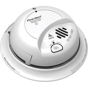 BRK Smoke/(CO) Alarm – 120V with Battery Back-Up