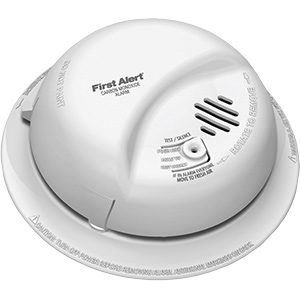 BRK (CO) Alarm – 120V with Battery Back-Up
