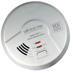 Kidde (CO)/Smoke Alarm – 120V with Battery Back-Up