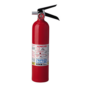 Kidde 2.5 Lb Pro 2.5 MP Fire Extinguisher