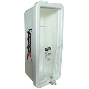 Kidde Plastic Fire Extinguisher Cabinet