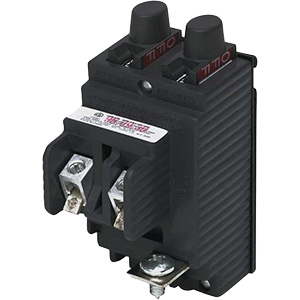 Pushmatic Twin Single-Pole Circuit Breaker P2020