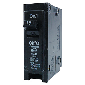 Eaton Interchangeable S/P Breaker CL115