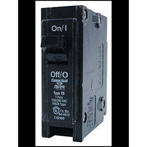 Eaton Interchangeable S/P Breaker CL120