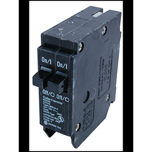 Eaton Interchangeable Twin Pole Breaker BD1515