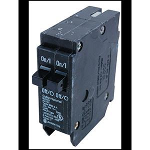 Eaton Interchangeable Twin Pole Breaker BD1515