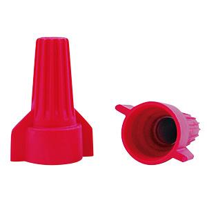 Gardner Bender Color-Coded Wing Nut 10-14 AWG — Red