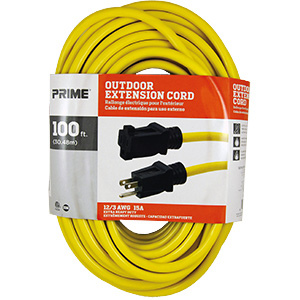 Prime Jobsite Extension Cord 100 Ft