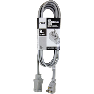 Prime Heavy-Duty Appliance Extension Cord 9 Ft