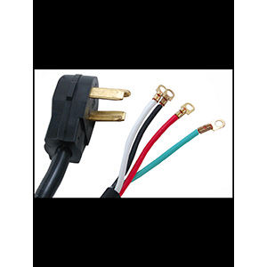 Prime Wire & Cable Inc. Dryer Cord 4-Wire 6 Ft