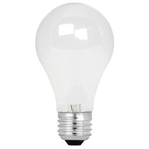 Feit A19 Energy Saving Halogen Bulb 43W Frost 3000K