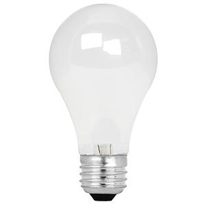 Feit A19 Energy Saving Halogen Bulb 53W Frost 3000K