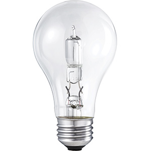 Philips A19 Energy Saving Halogen Bulb 29W Clear 2700K