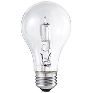 Philips A19 Energy Saving Halogen Bulb 72W Clear 2700K