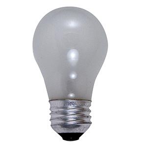 Feit A15 Incandescent Appliance Bulb 40W Frost Medium Base