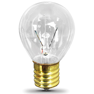 Feit 40W S11N Microwave Bulb Intermediate Base Clear