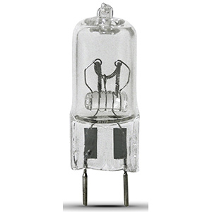 Feit 20W JCD/T4 Halogen Bulb G8 Base Clear