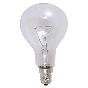 Feit A15 Incandescent Bulb 40W Clear Candelabra Base