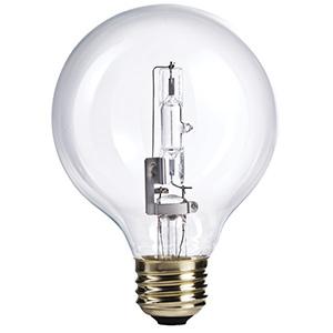 Philips G25 Globe Halogen Bulb 40W Clear