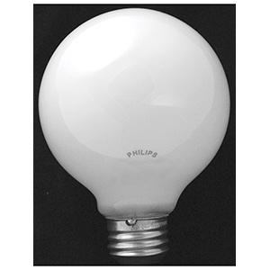 Philips G25 Globe Halogen Bulb 40W White