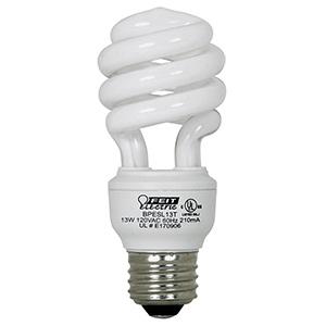 Feit 13W Mini-Twist CFL Bulb 2700K