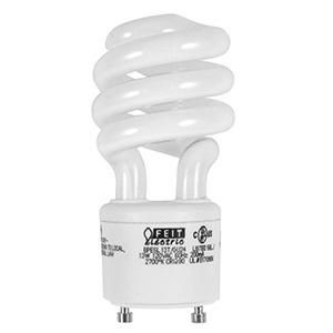 Feit 13W Mini-Twist CFL Bulb GU24 Base 2700K