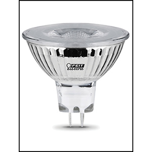 Feit MR16 LED 12V GU5.3 Base Bulb Replaces 20W 3000K CEC
