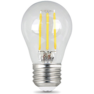 Feit A15 Filament LED Bulb Replaces 40W 2700K Dimmable