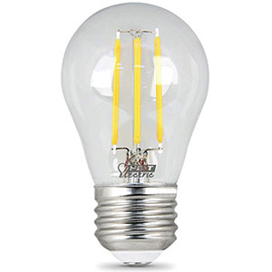 Feit A15 Filament LED Bulb Replaces 40W 2700K Dimmable CEC