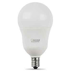 A15 Filament LED Bulb Replaces 40W 2700K Candelabra Base CEC
