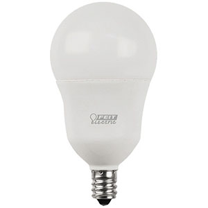 A15 Filament LED Bulb Replaces 60W 2700K Candelabra Base CEC