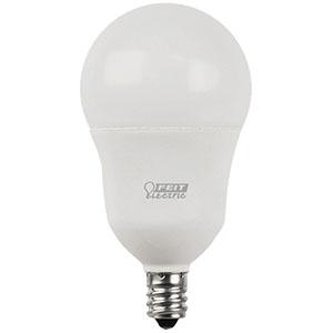 A15 Filament LED Bulb Replaces 60W 2700K Candelabra Base CEC