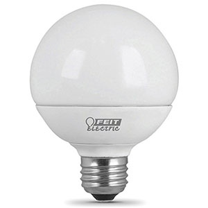 Feit G25 LED Bulb Replaces 60W 2700K Dimmable CEC