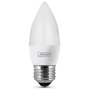 Feit Torpedo-Tip LED Bulb Replaces 40W 3000K Non-Dimmable