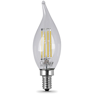 Feit Flame Tip LED Bulb Replaces 60W 5000K Candelabra Base