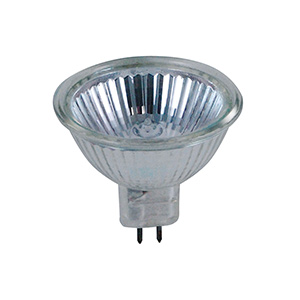 Feit 50W MR16 Halogen Bulb 120V GU5.3 Base