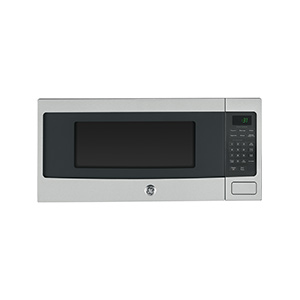 GE Stainless 1.1 cu ft Countertop Microwave