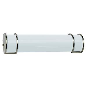 """2-Bulb 24"""" Fluorescent Wall Mount Vanity Fixture"""