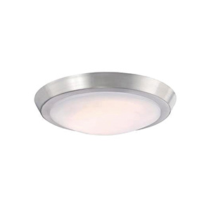 "11"" LED Ceiling Fixture Brushed Nickel"