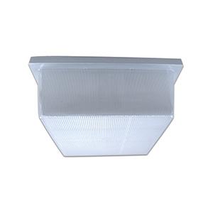 Fluorescent Ceiling Fixture White 26W