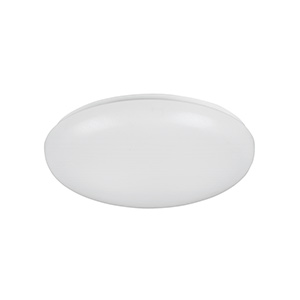 "14"" Fluorescent Mushroom Ceiling Fixture White"
