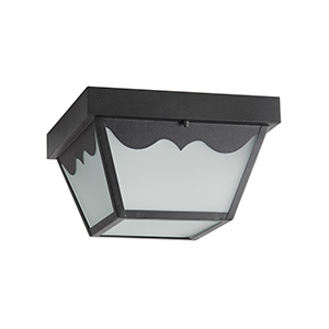 LED Black Ceiling Fixture