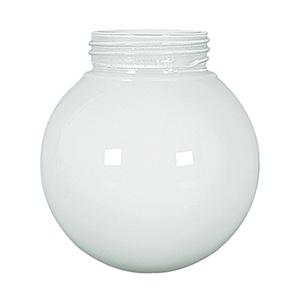 """6"""" Threaded Opal Glass Globe"""