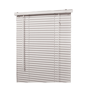 "All-Metal 1"" Mini-Blind White 27""W x 72""L"