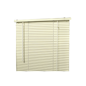 "All-Metal 1"" Mini-Blind Alabaster 23""W x 72""L"