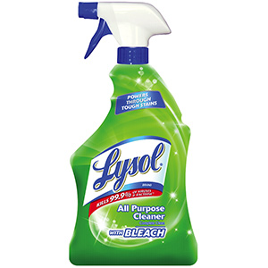Lysol Cleaner with Bleach 32 oz Spray Bottle