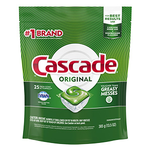 Cascade Dishwasher Action Pacs 25/Pk