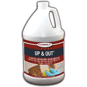 CarrollCLEAN Up & Out Carpet Stain Remover Gallon