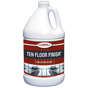 CarrollCLEAN Ten Floor Finish Gallon