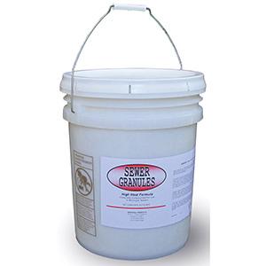 MST Sewer Granules 50 lb Bucket